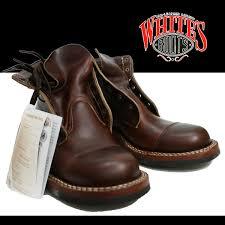 white s boots ホワイツブーツ semi dress semi dress cap toe brown