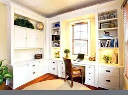 trendy custom built home office furniture. Built In Desks White Schoolhouse Into Wall . Desk Height Base Cabinets Easy Tutorial Finding Home Farms For Gaming Trendy Custom Office Furniture D