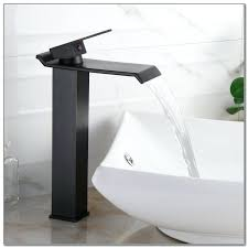 cool waterfall vessel faucet oil rubbed bronze waterfall vessel faucet kraus vessel sink waterfall faucet combo