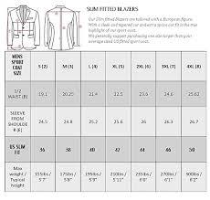 Rare Sport Coat Sizing Chart 2019