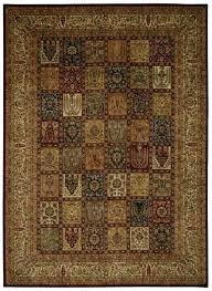 hand knotted central area rug asian rugs inspired