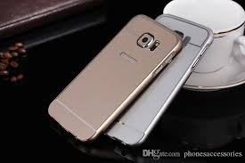 samsung galaxy s6 gold case. color: black,pink,blue,gold,silver,rose red material:aluminum pc package:opp package or retail samsung galaxy s6 gold case