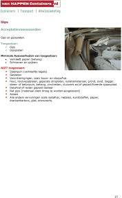 Acceptatiereglement Voor Afvalstoffen Klanten Pdf