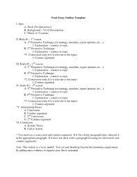 Format Persuasive Essay Outline Worksheet Free Printable Worksheets