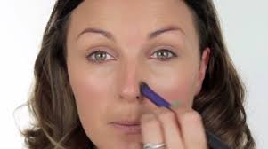 get rid of nose redness concealer uses by makeup tutorials at