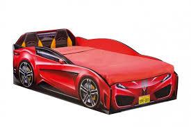 <b>Кровать</b>-<b>машина Spyder</b>, красная, сп. м. 70х130 <b>Cilek</b>