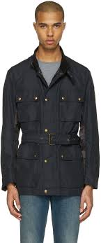belstaff black sophnet edition belted jacket men belstaff coats belstaff new york whole