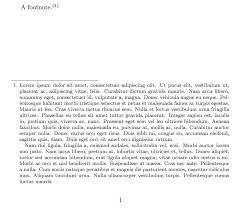Different Formatting Of Footnote Mark In Text And In Footnote Tex