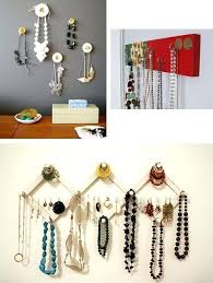 jewellery box with necklace hanger have room for a jewelry box make your own jewelry hangers