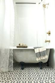 bathtub shower curtain rodgood looking round shower curtain rod