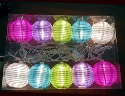 Led Lichtsnoer Lantaarnpartysnoer 10 Led Gekleurd Shopndropnl