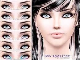 sims 2 goth makeup s