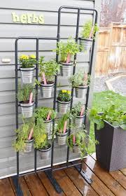 Wall Planters Ikea Diy Herb Garden And Garden Markers Diy Herb Garden Herbs Garden