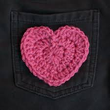 Crochet Heart Pattern Free Cool Crochet Heart Gallery Craftgawker