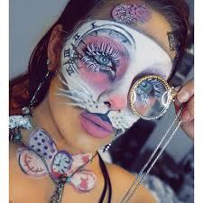 follow the white rabbit tim burton makeup challenge white rabbit from tim