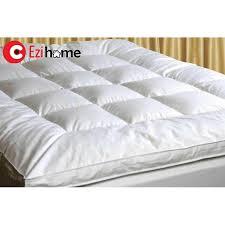 mattress topper. Ezihome Cotton Mattress Topper
