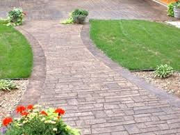 cleaning stamped concrete how to