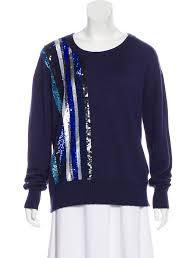 Prabal Gurung Size Chart Prabal Gurung Cashmere Silk Embellished Sweater Clothing