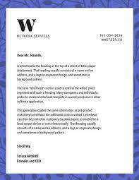 Letter Headed Paper Template Customize 178 Business Letterhead Templates Online Canva