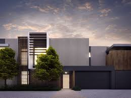 Townhouse Designs Melbourne Cotery Townhouse Contemporary Facade Design Home Pinterest