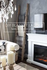 wooden ladder shelf furniture. beautiful furniture diy blanket ladder made with 2 x 4s on wooden shelf furniture