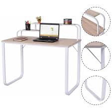 home office furniture walmart. Plain Furniture Costway Computer Desk W2Tier Shelves Home Office Furniture Laptop Writing  Study To Walmart C