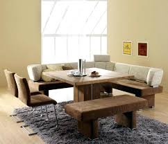 table sets with bench contemporary dining room design with square wooden dining room table corner bench