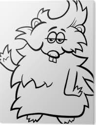 Canvas Hamster Cartoon Kleurplaat Pixers We Leven Om Te Veranderen