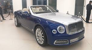 BENTLEY GRAND CONVERTIBLE BY MULLINER: THE ULTIMATE LUXURY ...