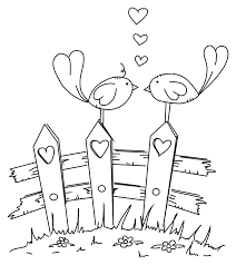 Valentijnsdag Kleurplaten Print Een Tekening Voor Je Lief