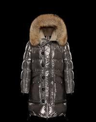 mens moncler inuit coat coats silver
