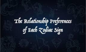 Zodiac Soulmates Chart Relationship Preferences Of Each Zodiac Sign The Black Tux