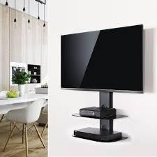... Glass Tv Shelves Wall Mount Buy Fenge Swivel Tv Wall Mount With Black 2  Tires Shelf ...