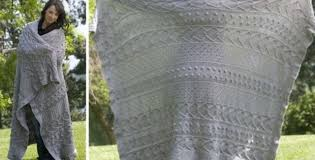 Knitted Afghan Patterns Interesting Pacific Elegance Knitted Afghan [FREE Knitting Pattern]