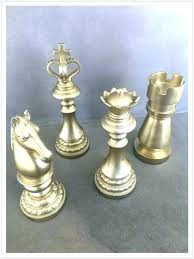 oversized chess pieces for decoration decorative golden oversize piece by no set wooden pi oversized chess set