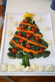 Christmas Tree Veggie Tray- I made one last year but must not have pinned it