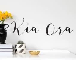 Small Picture Kia Ora YOUR DECAL SHOP NZ Designer Wall Art Decals Wall
