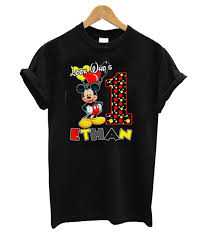 Mickey Mouse Birthday T shirt