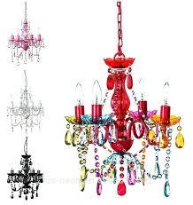 multi coloured chandelier 5 light multi coloured gypsy crystal chandelier ceiling light for girls room