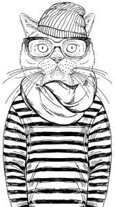 cool coloring sheets. Delighful Coloring Cool Cat Coloring Page From Cleverpediacom Throughout Sheets