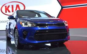 kia rio 5 2018. perfect kia 2018 kia rio 5 makes north american debut at montreal auto show for kia rio