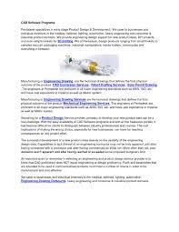 Mechanical Design Domains Cad Software Programs By Pentadesktechnologies Issuu
