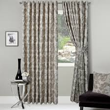 buckingham ready made jacquard curtains