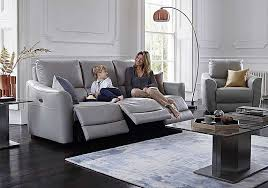 3 seater recliner sofa. Exellent Recliner Trilogy Leather 3 U0026 2 Seater Power Recliner Sofas Inside Sofa T