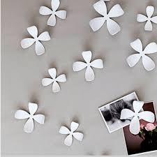 umbra wallflower wall decor 25 flowers white diy nature art home room design new com