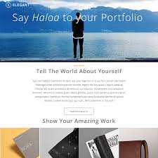 Free Psd Portfolio And Resume Website Templates In 2017 Colorlib
