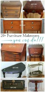 diy furniture refinishing projects. 20+ More Furniture Makeovers - You Can Do! Artsy Chicks Rule® Diy Refinishing Projects I