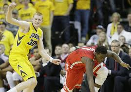 See more of ohio state university men's basketball on facebook. Iowa Sweeps Ohio State 76 67 Behind White S 22 Points The Blade