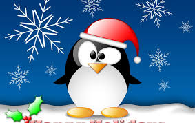 christmas penguin wallpaper. Exellent Penguin Happy Penguin Wallpapers To Christmas Wallpaper 0