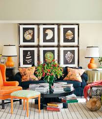 ... Living Room Wall Decor Ideas Modern Decorate With Frames Collection  Elegant And Simple Creative With Books ...